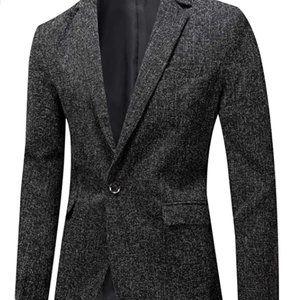 Men's Casual Lightweight Coat Suit